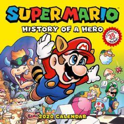 NINTENDO -  CALENDAR 2020 (16 MONTH) -  SUPER MARIO : HISTORY OF A HERO