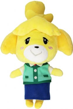 NINTENDO -  ISABELLE PLUSH (9 INCH) -  ANIMAL CROSSING