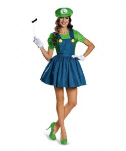 NINTENDO -  LUIGI COSTUME (TEEN - X-LARGE 14-16) -  SUPER MARIO