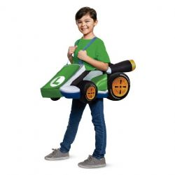 NINTENDO -  LUIGI KART COSTUME (CHILD - ONE SIZE) -  MARIO KART