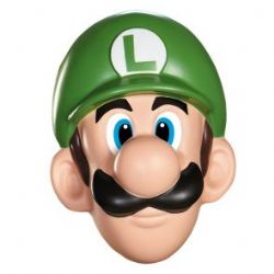 NINTENDO -  LUIGI MASK (ADULT) -  SUPER MARIO