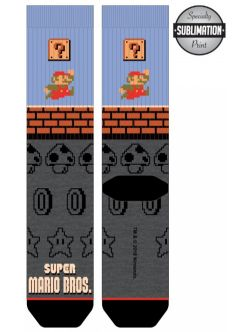 NINTENDO -  PANEL SOCK -  SUPER MARIO BROS.