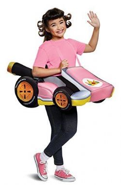 NINTENDO -  PEACH KART COSTUME (CHILD - ONE SIZE) -  MARIO KART