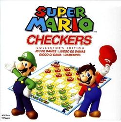 NINTENDO -  SUPER MARIO CHECKERS - COLLECTOR'S EDITION