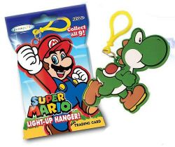 NINTENDO -  SUPER MARIO - HANGER AND ONE TRADING CARD RANDOM (COLLECTOR PACK)