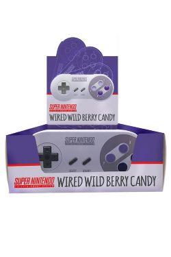 NINTENDO -  SUPER NES CONTROLLER - WILD BERRY CANDY