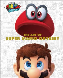 NINTENDO -  THE ART OF SUPER MARIO ODYSSEY