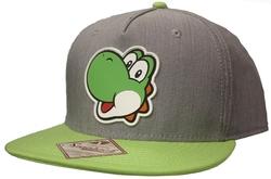 NINTENDO -  YOSHI -GREY/GREEN CAP
