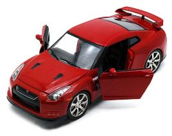 NISSAN -  2009 GT-R 1/24 - RED