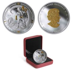NORSE GODS -  THOR -  2019 CANADIAN COINS 01