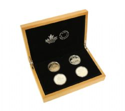NORTH AMERICAN SPORTFISH -  4 COINS SET -  2015 CANADIAN COINS