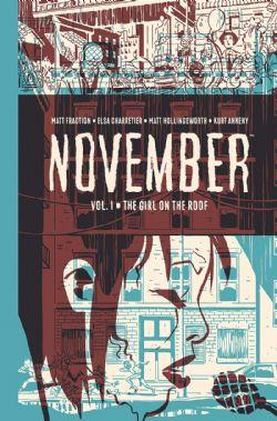 NOVEMBER -  THE GIRL ON THE ROOF HC 01