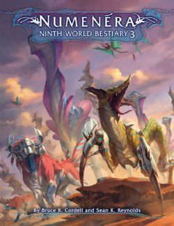 NUMENERA -  NINTH WORLD BESTIARY 3 - (ENGLISH)