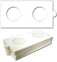 NUMIS -  25 2X2 COIN HOLDER SELF-ADHESIVE UP TO 1.1