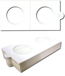 NUMIS -  25 2X2 COIN HOLDER SELF-ADHESIVE UP TO 1.2
