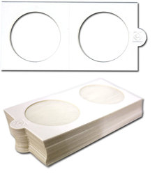 NUMIS -  25 2X2 COIN HOLDER SELF-ADHESIVE UP TO 1.5