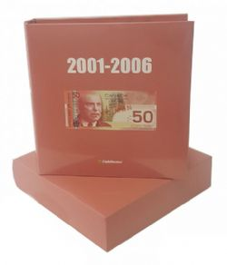 NUMIS ALBUMS -  NUMIS ALBUM FOR CANADIAN BANKNOTES -  2001-2006 07