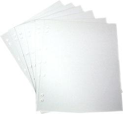 NUMIS -  PACKAGE OF 10 WHITE INTERLEAVES