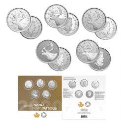 NUMIS-TASTIC! SETS -  2020 NUMIS-TASTIC! SET - SET OF 5 COINS (QUARTERS) -  2020 CANADIAN COINS 01