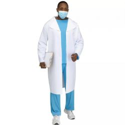 NURSES AND DOCTORS -  DOCTOR WITH LAB COAT (ADULT - ONE SIZE)