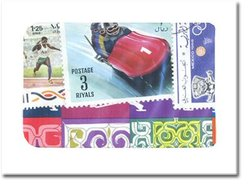 OLYMPICS -  25 ASSORTED STAMPS - OLYMPICS