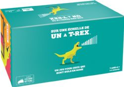 ON A SCALE OF ONE TO T-REX (FRENCH)