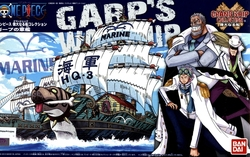 ONE PIECE -  GARP'S PIRATE SHIP MODEL