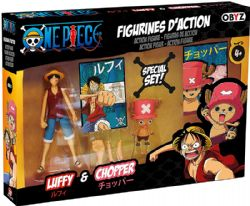 ONE PIECE -  LUFFY & CHOPPER ACTION FIGURES (12CM)