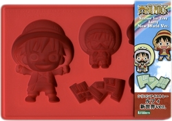 ONE PIECE -  LUFFY - SILICONE ICE TRAY