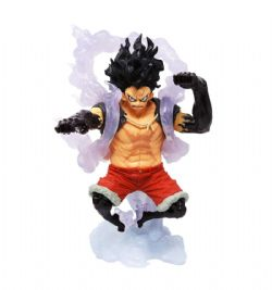ONE PIECE -  LUFFY THE SNAKEMAN FIGURE (5 1/2INCHES) -  KING OF ARTIST