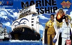 ONE PIECE -  MARINE PIRATE SHIP MODEL