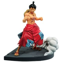 ONE PIECE -  MONKEY D. LUFFY PVC FIGURE (5INCHES) -  LOG FILE SELECTION WORST GENERATION V1