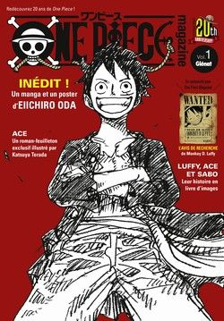 ONE PIECE -  ONE PIECE MAGAZINE -  20TH ANNIVERSARY 01