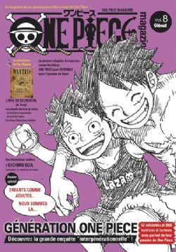 ONE PIECE -  ONE PIECE MAGAZINE -  20TH ANNIVERSARY 08