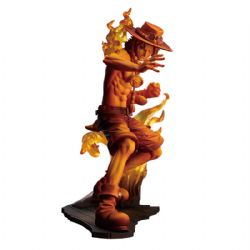 ONE PIECE -  PORTGAS D ACE FIGURE (5.5INCHES) -  ONE PIECE STAMPEDE