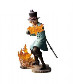ONE PIECE -  SABO FIGURE (5.5INCHES) -  ONE PIECE STAMPEDE