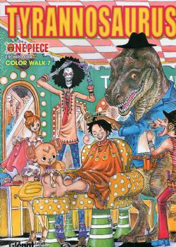 ONE PIECE -  TYRANNOSAURUS - COLOR WALK 07