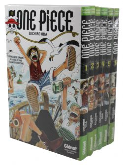ONE PIECE -  USED - BUNDLE TOMES 1 À 6 (FRENCH VERSION)