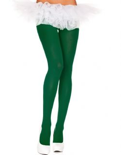 OPAQUE -  HUNTER GREEN - ONE-SIZE -  PANTYHOSE