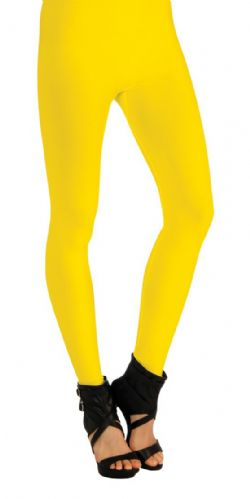 OPAQUE LEGGINGS - YELLOW (ADULT - ONE SIZE)