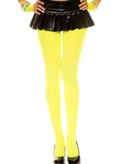 OPAQUE -  YELLOW - ONE-SIZE -  PANTYHOSE