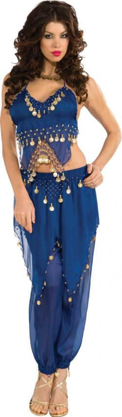 ORIENTAL -  BELLY DANCER COSTUME (ADULT)