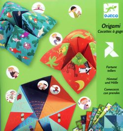 ORIGAMI -  AN FORTUNE TELLERS (MULTILINGUAL)