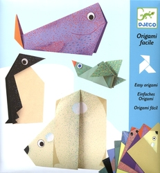 ORIGAMI -  POLAR ANIMALS (MULTILINGUAL)