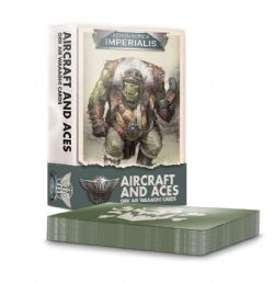 ORK AIR WAAAGH! CARDS -  AIRCRAFT AND ACES (ENGLISH) -  AERONAUTICA IMPERIALIS