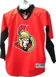 OTTAWA SENATORS -  REPLICA JERSEY RED (JUNIOR - LARGE/X-LARGE)
