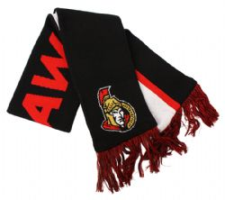 OTTAWA SENATORS -  SCARF - BLACK