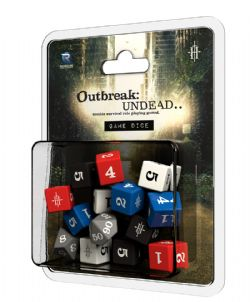 OUTBREAK : UNDEAD -  GAME DICE -  SECOND EDITION