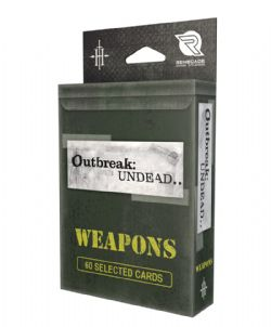 OUTBREAK : UNDEAD -  WEAPONS DECK -  SECOND EDITION