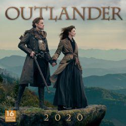 OUTLANDER -  2020 WALL CALENDAR (16 MONTHS)